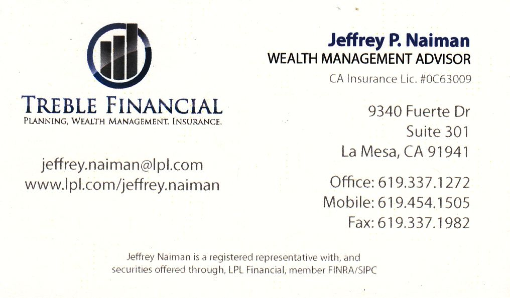 Jeffrey P. Naiman wealth management advisor