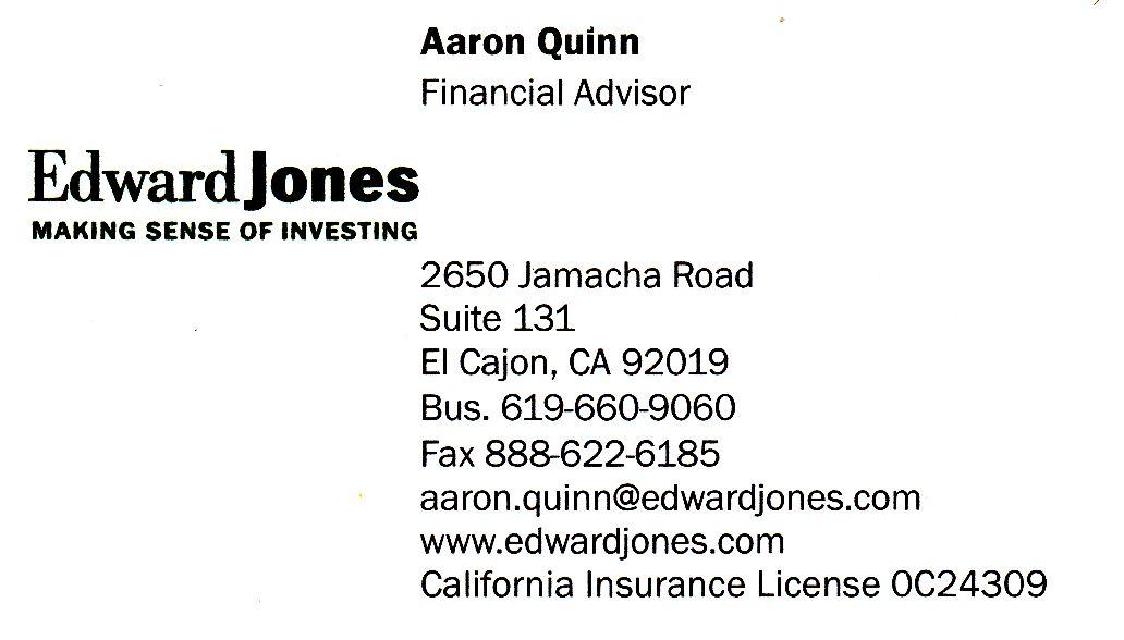 Edward Jones Investing