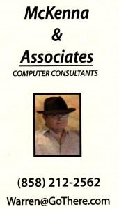 McKenna Associates computer consulting San Diego