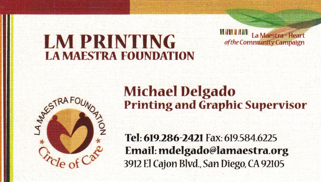 LM Printing La Mesa, CA