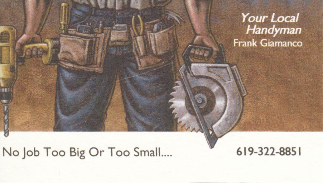 Frank Giamanco handyman