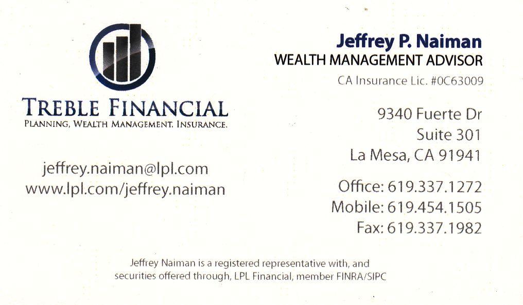 Jeffrey P. Naiman wealth management advisor